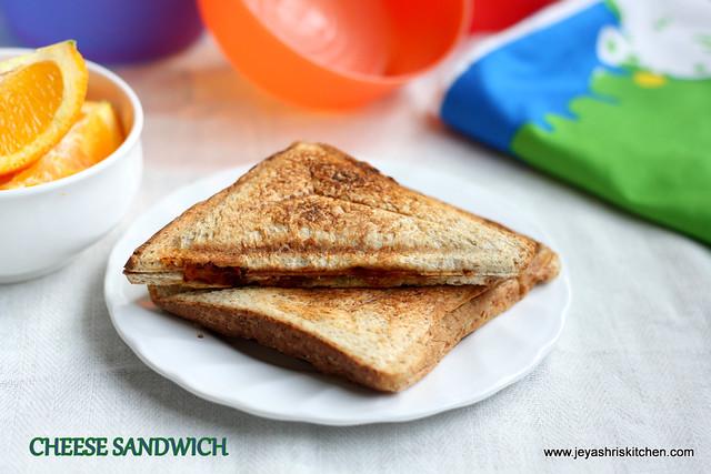 cheese sandwich 3