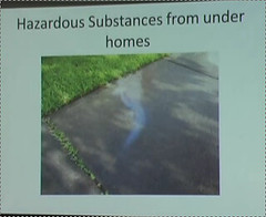 Hazardous Substances from under homes
