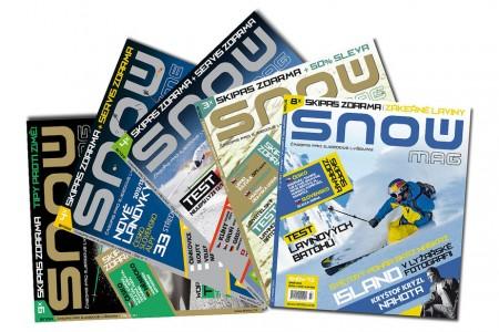 Elektronický archiv časopisů SNOW je kompletní!