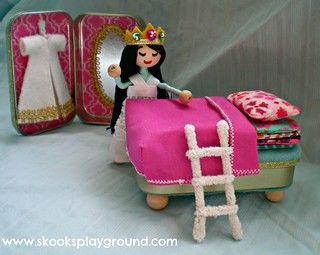 Wee Princess Pea Playset