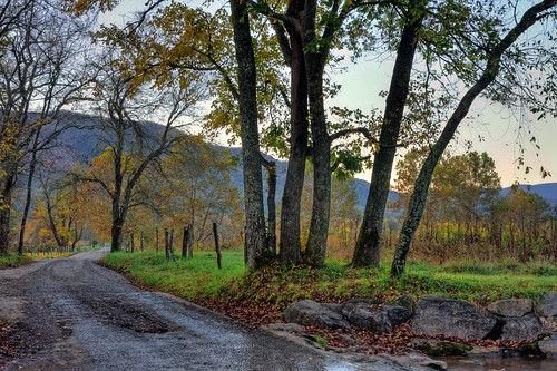 Cades Cove in the Fall