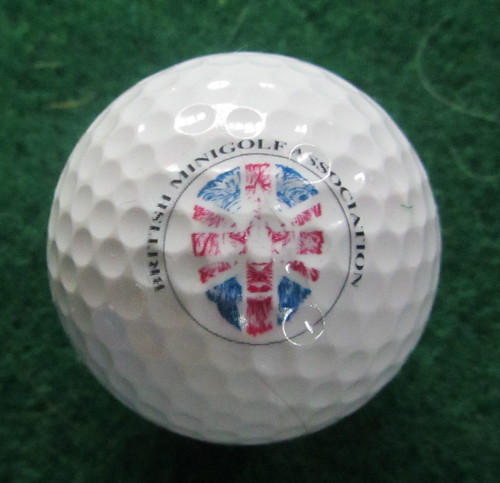 The official ball of the 2013 World Crazy Golf Championship