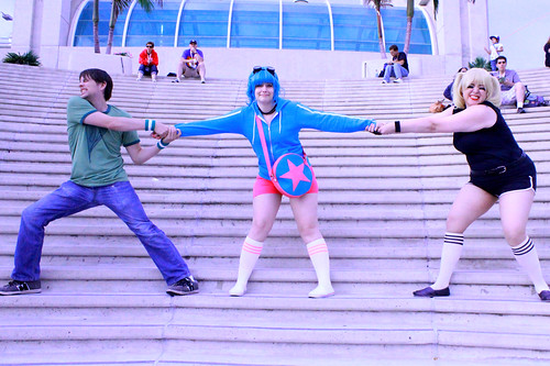Video Game Ramona Flowers Cosplay SDCC 2013
