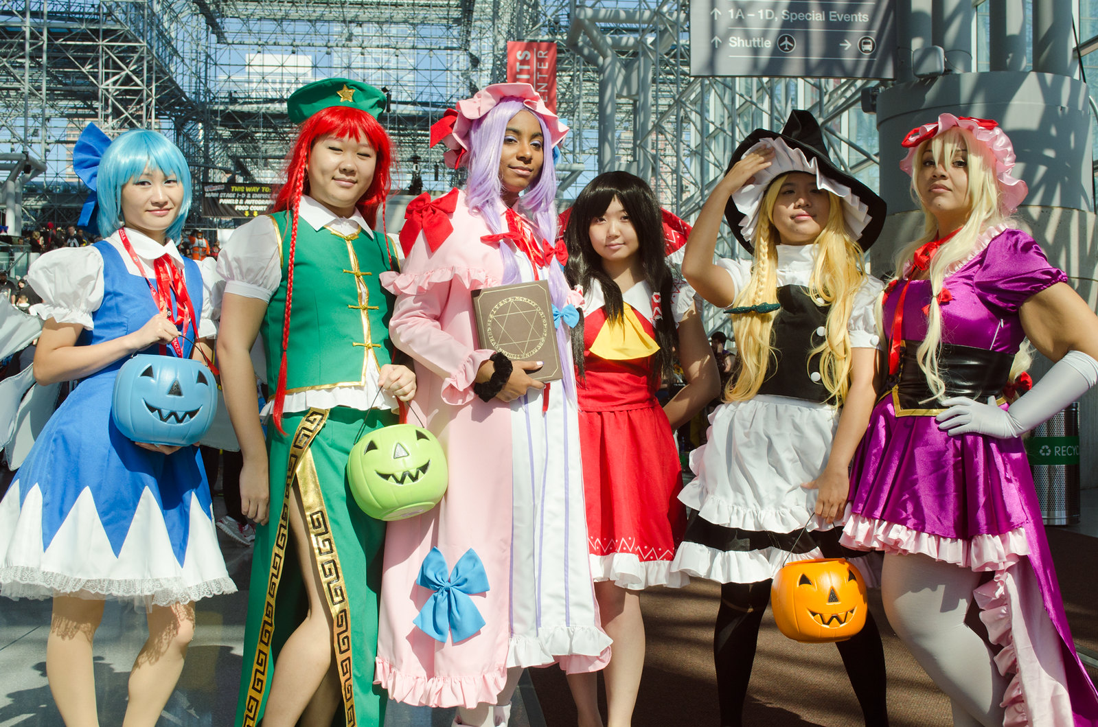 TouHou Cosplay NYCC 2013