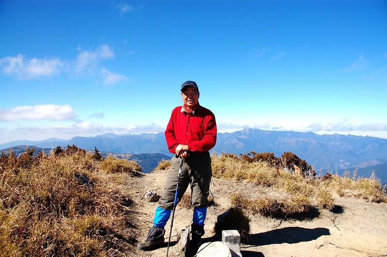 無明山山頂(背景為雪山山脈) 1