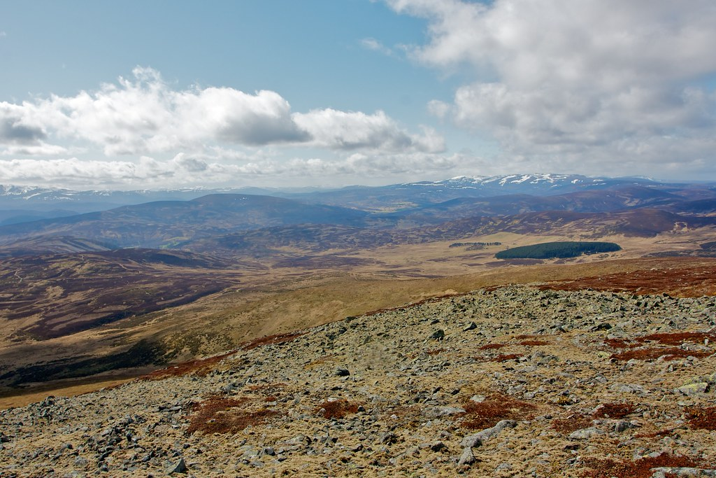Morven Lodge and the Cairngorms
