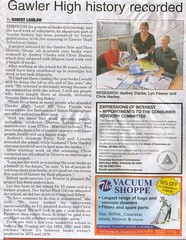 Barossa Herald 9thApril2014 GHS Year books