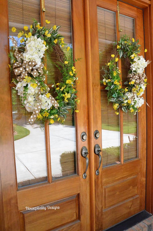 Spring Wreaths-Housepitality Designs