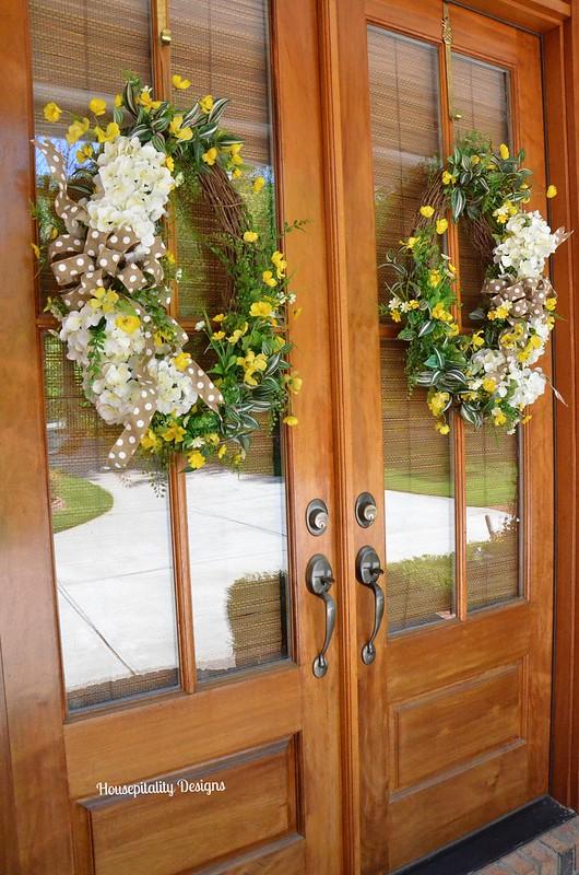 Spring Wreaths-Housepitality Designs