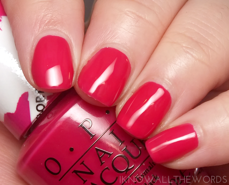 opi colour paints pen & pink
