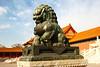 forbidden city statue