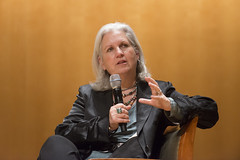 "Terry Tempest Williams, award-winning author of ""Refuge: An Unnatural History of Family & Place"" and ""Finding Beauty in a Broken World,"" discussed the role of the humanities in environmentalism."