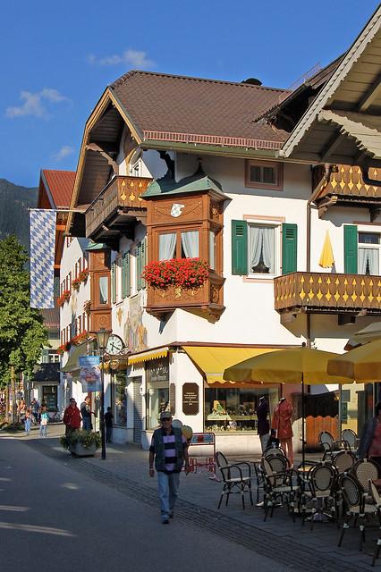 Garmisch - Altstadt (Fußgängerzone) (05)