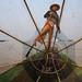 Fisherman - Inle Lake, Myanmar by Maciej Dakowicz