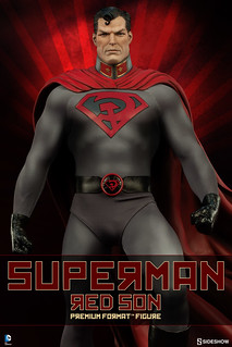 Sideshow Collectibles【紅之子】Superman Red Son 1/4 比例 全身雕像