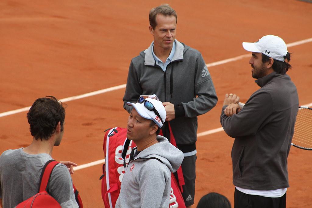 Federer Chang and Edberg