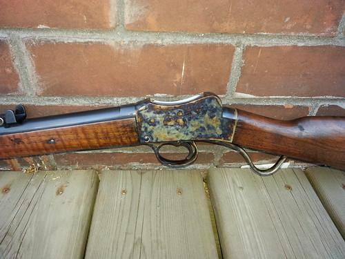 1912 BSA Martini .310 Cadet Target Rifle -- left side action