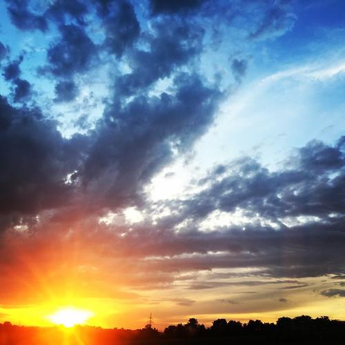 Sunset - Burgenland