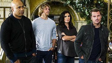 Sam, Deeks, Kensi and Callen