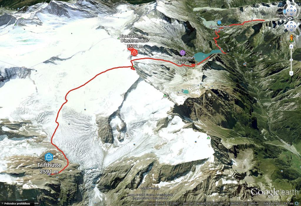 Diechterhorn (day 3, h.r. Swiss Glacier) Urner Alpen Schweiz foto 37