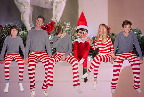 , Elf Yourself, Family Blog 2020, Family Blog 2020