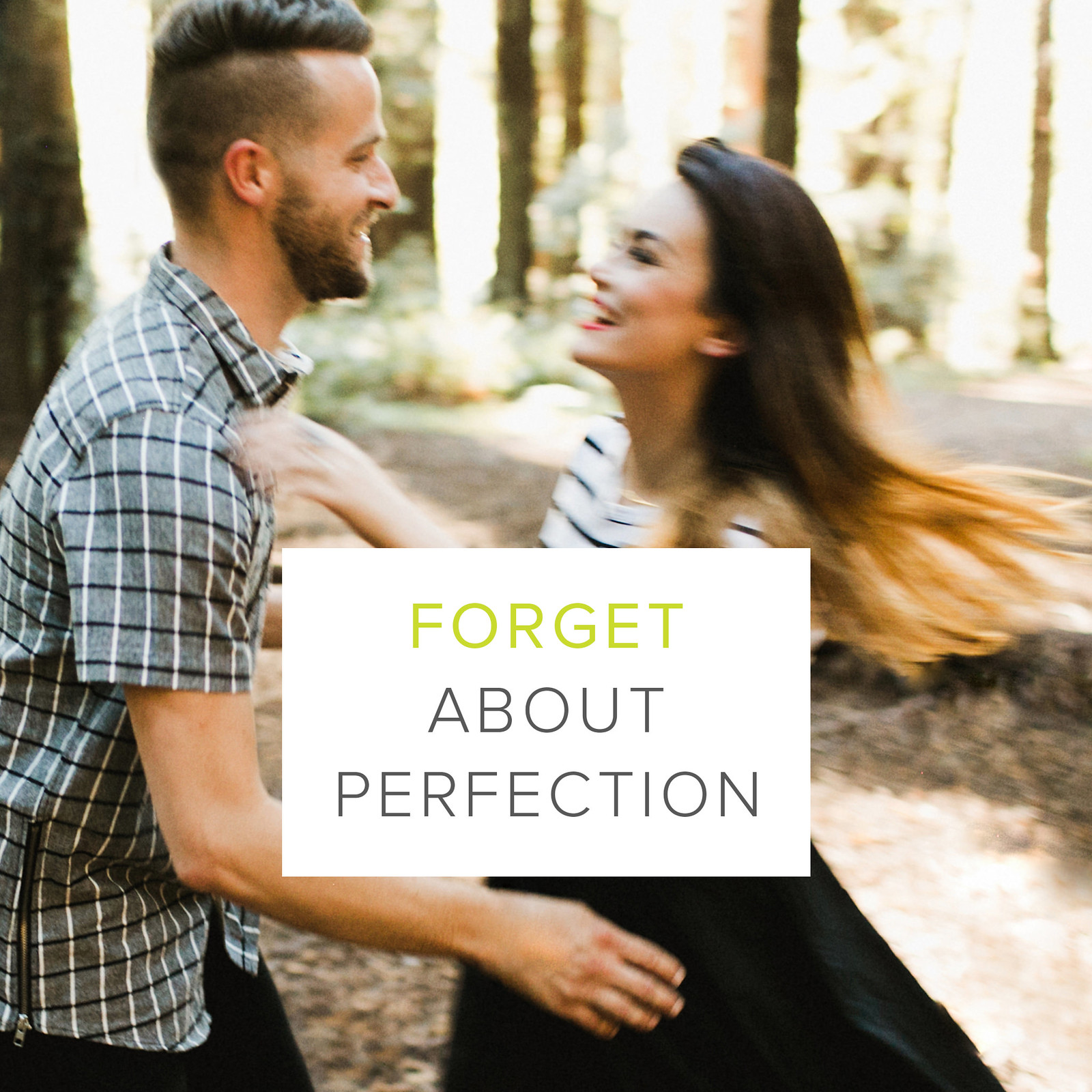 The Creative Manifesto // Ben Sasso // Forget about Perfection