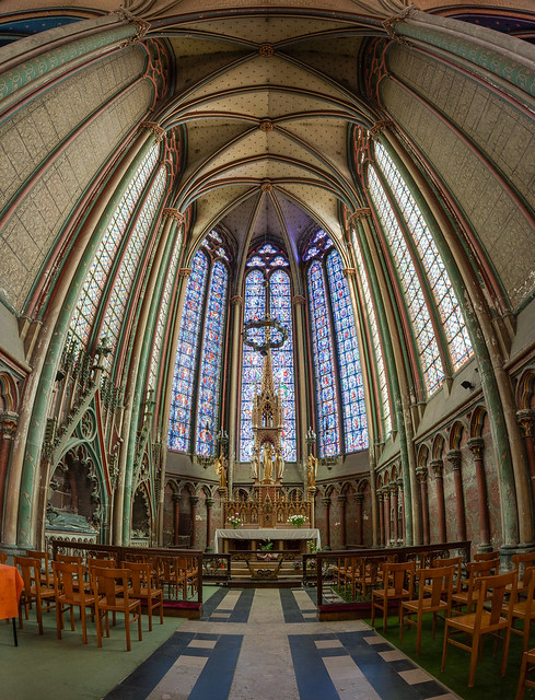 Amiens Cathedral Virgin Chapel