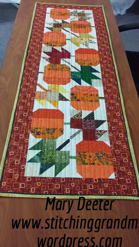 Autumn Jubilee Table Runner Number 3