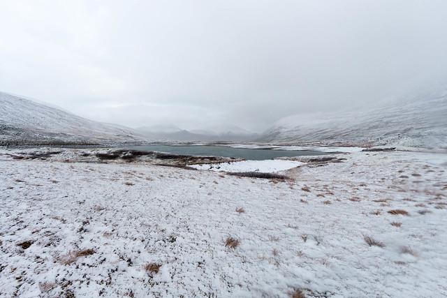 Snedækket fjeld
