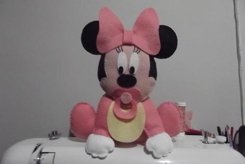 Baby Minnie by Fiapinho Ateliê