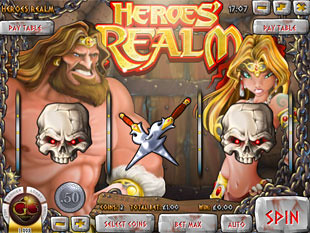 Heroes' Realm Slot Machine