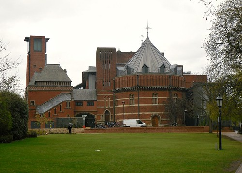 Stratford-upon-Avon, Royal Shakespeare Company Building  5