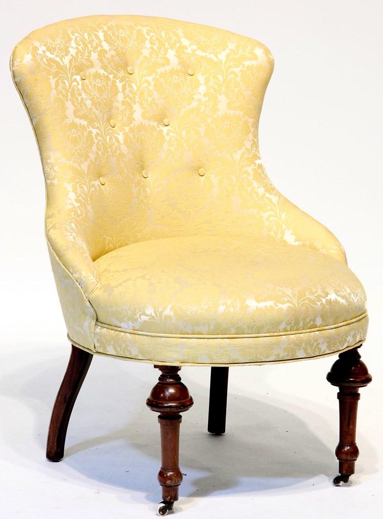 14 Victorian Slipper Chair
