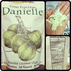 You guys- I can't stop! #coconut chips #daniellesnacks