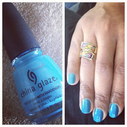 Caribbean #Blue #Nailpolish