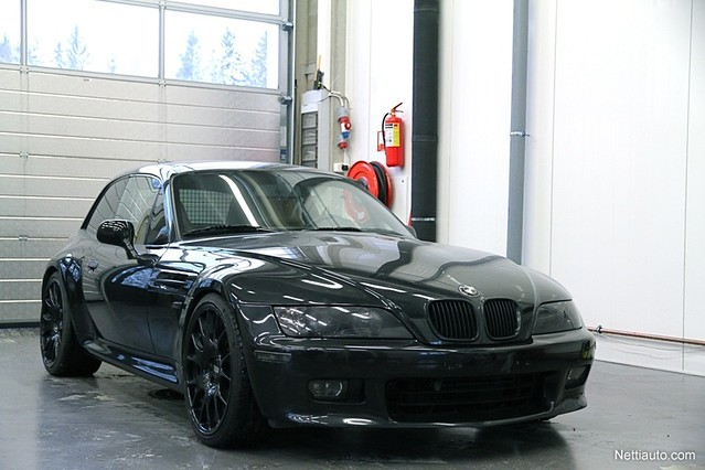 1998 Z3 Coupe | Jet Black | Walnut | Finland | M Side Grilles