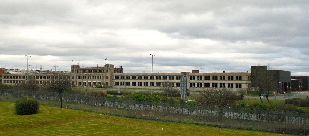Honeywell Factory, Newhouse from right