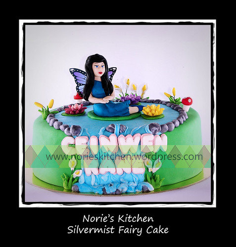 Norie's Kitchen - Silvermist Fairy Cake by Norie's Kitchen