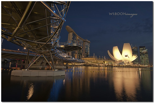 Blue Hour @ Marina  Bay Sands Singapore_1663