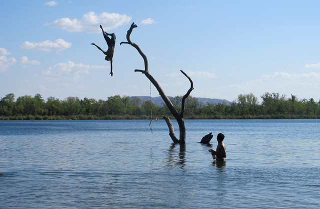Swim Beach Tree Kununurra by AUSTRALIE - Le Guide des Backpackers