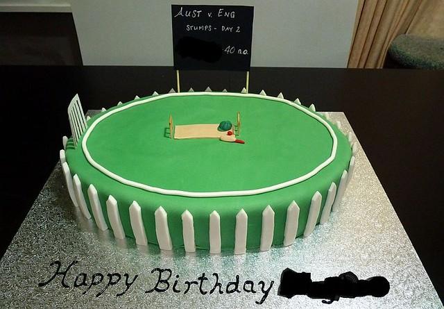 Cricket cake Flickr - Photo Sharing!
