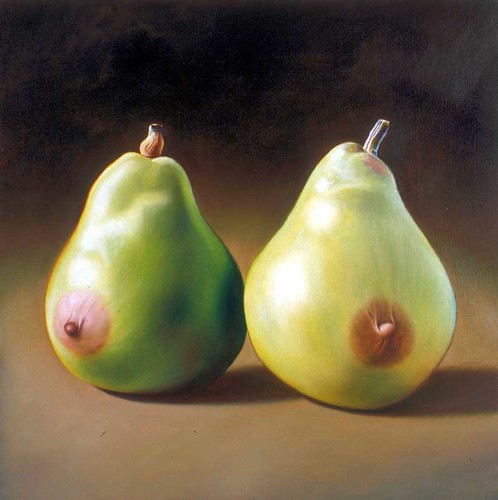 Ron English, Pair Of Pears