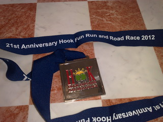 Hook 10 Mile Medal