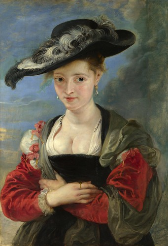 Peter Paul Rubens - Portrait of Susanna Lunden (Le Chapeau de Paille) [c.1622-26] by Gandalf's Gallery
