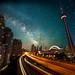 Milky Way over the Gardiner by Jim U