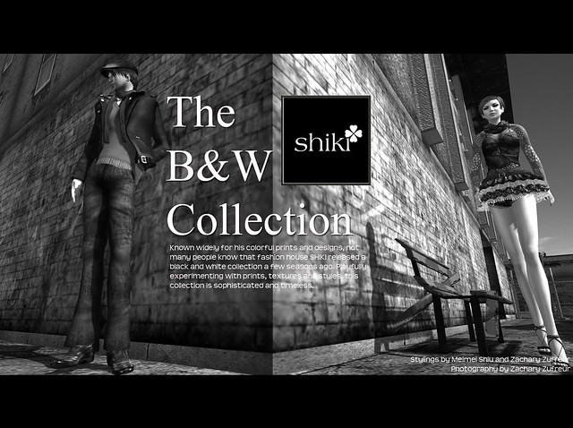 L'HOMME #4 - The B&W Collection from SHIKI
