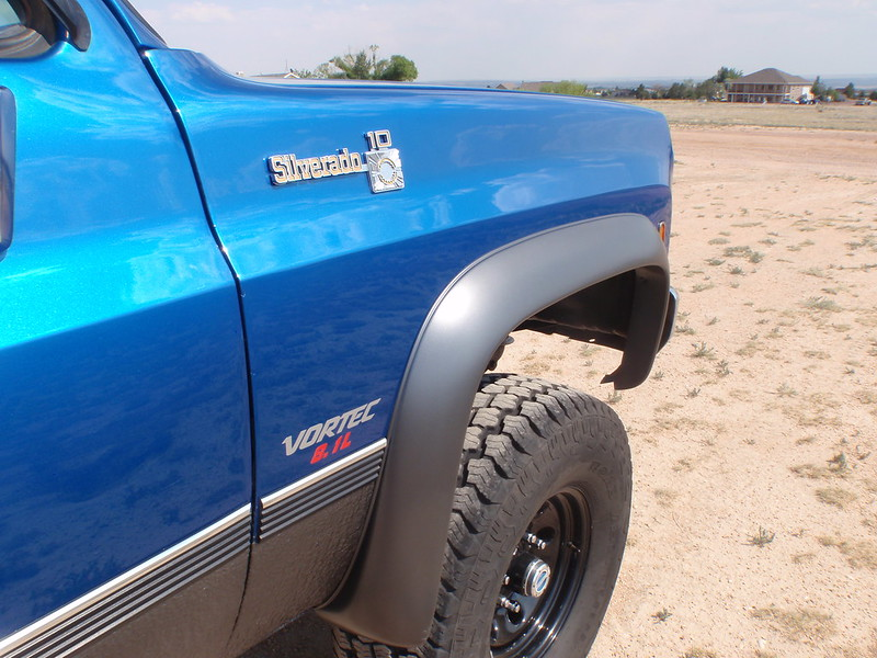 K10 Fender Flares : Refreshed rhino lined rockers and fender flares the