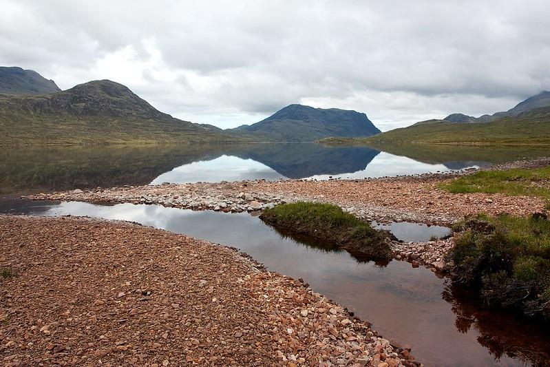 Sgùrr Dubh above Lochan Fada