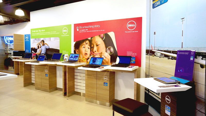 Dell's Exclusive Store at Funan Singapore