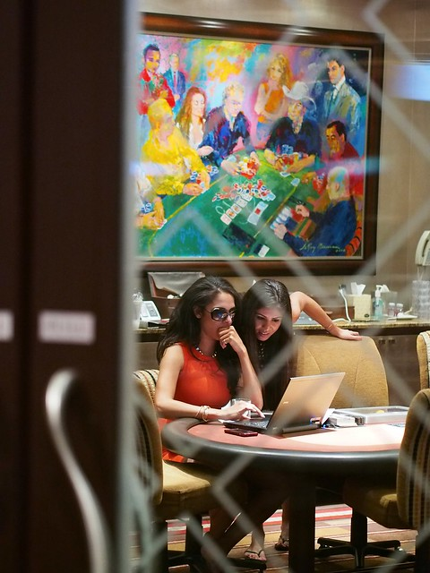 0055 RFGs Brittany Bell and Tugba Ercan Play ClubWPT Bounty in Bobbys Room